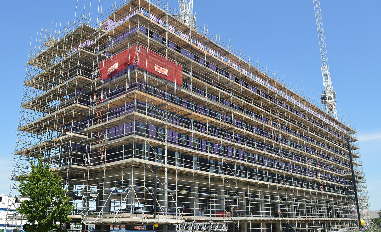 scaffolding home page