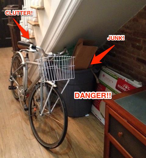 bikes prams in communal hallways shared spaces